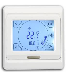 Termostato Digital Calefacción Refrigeración Regulador climático E91.42