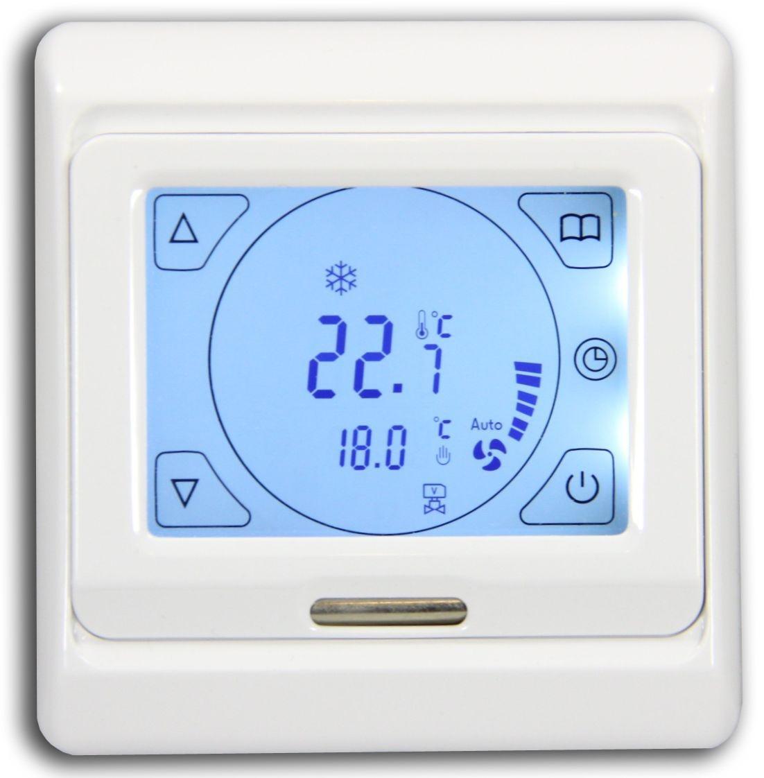 digital thermostat heizen k hlen klimaregler. Black Bedroom Furniture Sets. Home Design Ideas