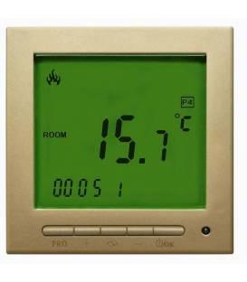 Digitale thermostaat Goudgeel 603PWGG *Nieuwe software