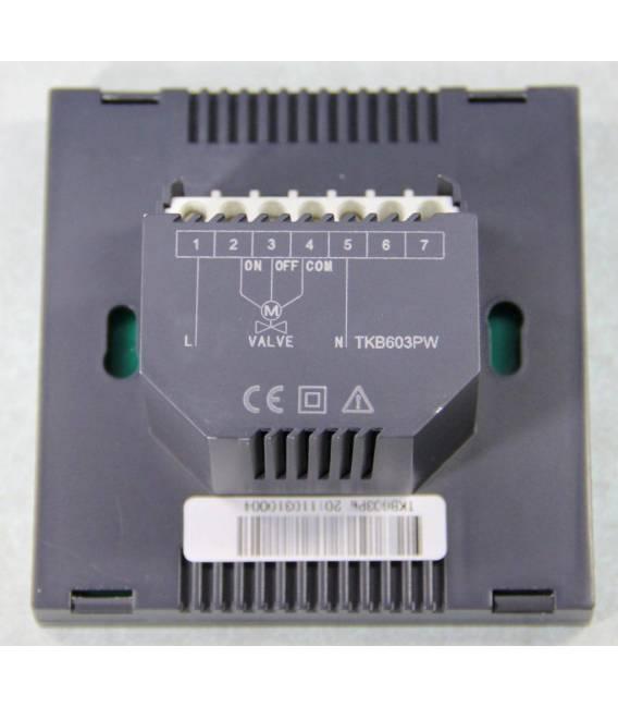 Termostato digitale oro giallo 603PWGG * nuovo software