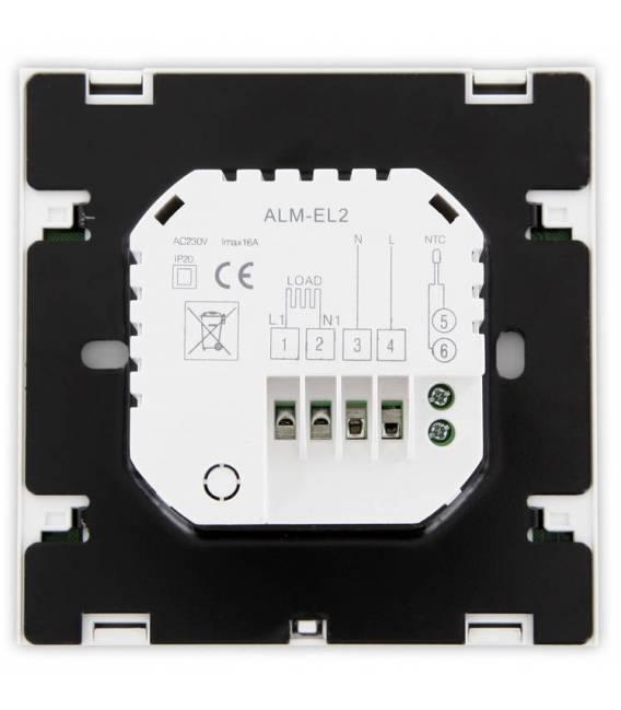 Digitale thermostaat aanraking vloerverwarming 16A EL2 wit