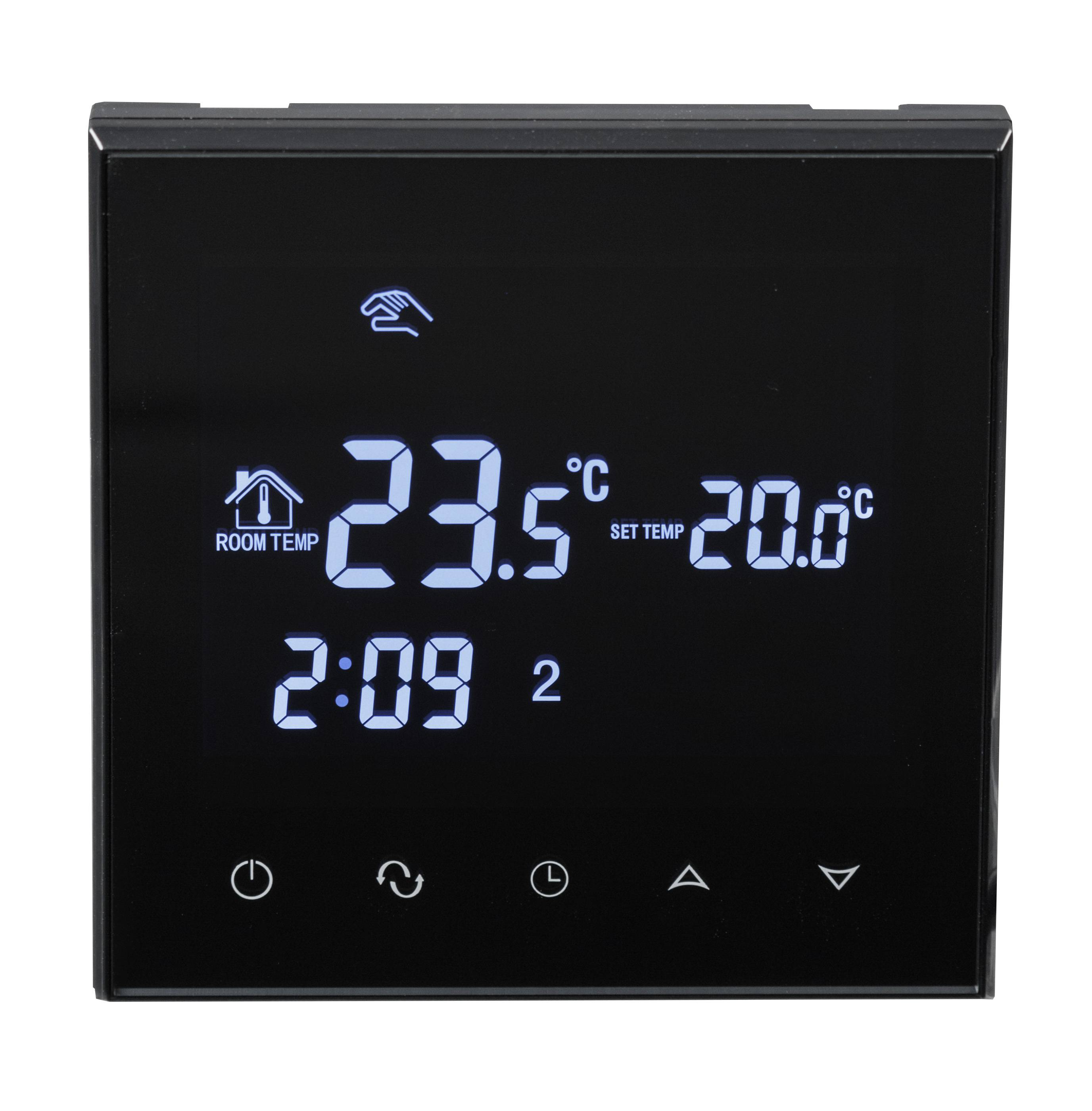 raumthermostat fussbodenheizung 16a el3. Black Bedroom Furniture Sets. Home Design Ideas
