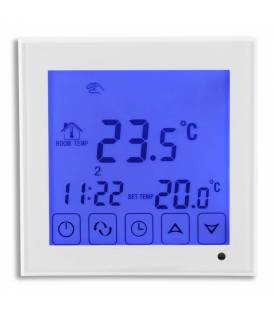 Kamerthermostaat Touch vloerverwarming 16A EL2 Wit