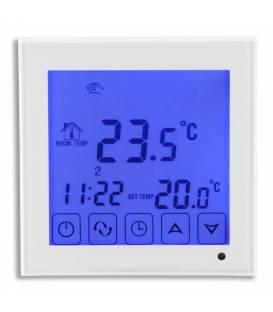 Termostato ambiente Riscaldamento a pavimento touch 16A EL2 Bianco