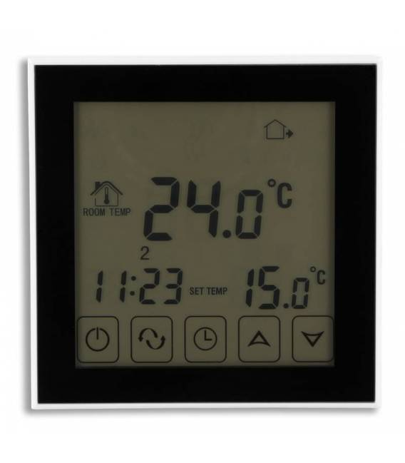 Digital thermostat touch underfloor heating 16A EL2 white