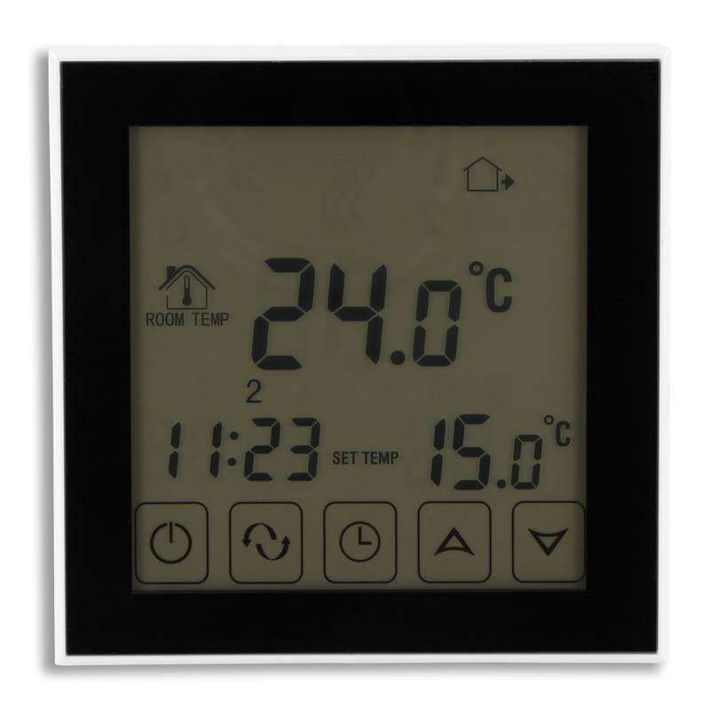 Digital Thermostat Touch Fußbodenheizung 16A EL2 Schwarz | eBay