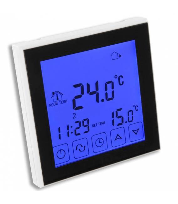 Termostato digital táctil radiante 16A EL2 blanco