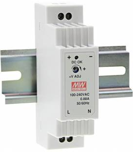 Mean Well Hat Rail Power Supply (DIN-Rail) DR-15-12 12 V/DC 1.25A 15W 1x