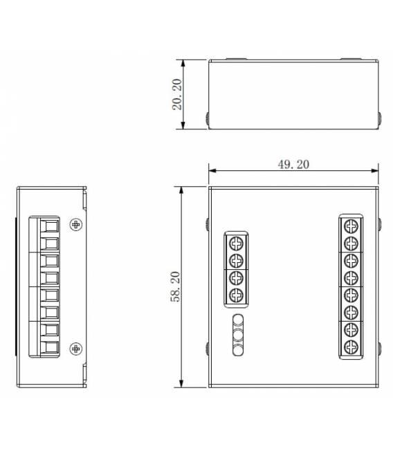 Sicherheitsmodul DEE1010B -Türsprechanlage