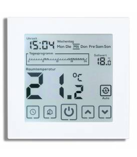 Digitale thermostaat vloerverwarming EL05 Wit