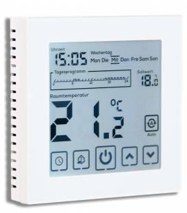 Digital Thermostat Fussbodenheizung EL05 Weiss -Thermostat Fussbodenheizung