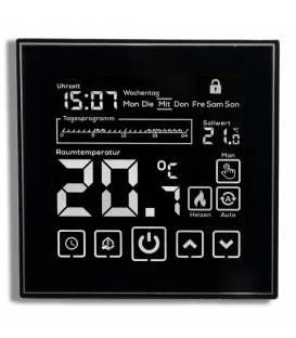Digital Thermostat Chauffage au sol EL06 Noir