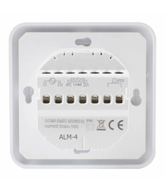 Room thermostat Touch underfloor heating 16A EL2 White
