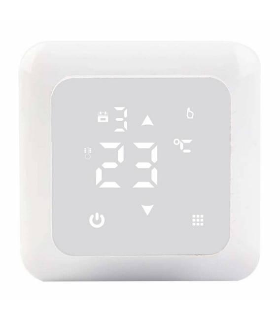 Termostato della stanza Riscaldamento sottopatico 16A EL2 Bianco