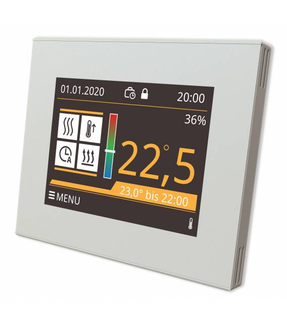 Digital Thermostat Underfloor Heating EL05 White