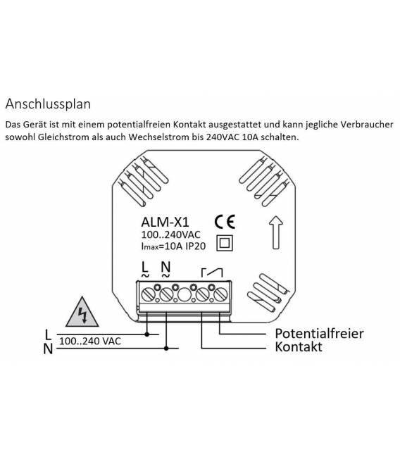 Digitale thermostaat vloerverwarming EL05 Wit