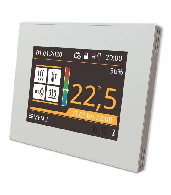Termostato digital Calefacción por suelo radiante EL05 Blanco