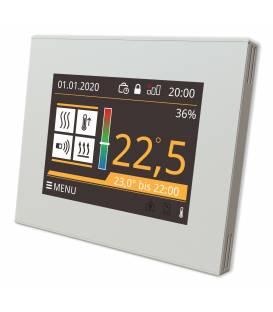Altech halthsbl rapido calore Touch screen programmabile termostato a pavimento nero