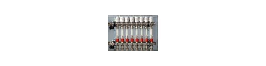 Calefacción por suelo radiante del termostato